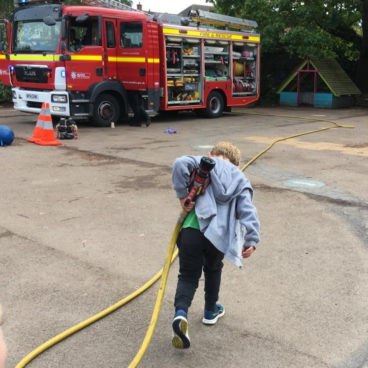 the aspiring fireman